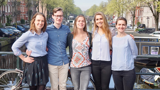 University of Amsterdam Green Office - Team Photo