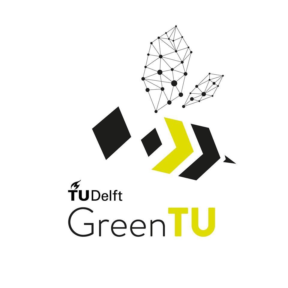 Green TU Delft Logo