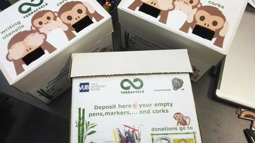 Green Team VUB Brussels - Paper Recycling