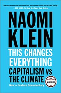 This Changes Everything - Capitalism vs. The Climate a book on global warming - Global Warming Books