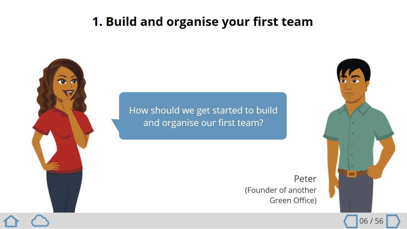 Online course about how you can set up a Green Office