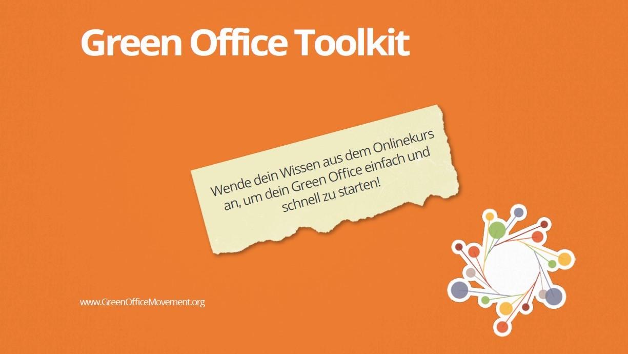 Toolkit zur Gründung deines Green Office