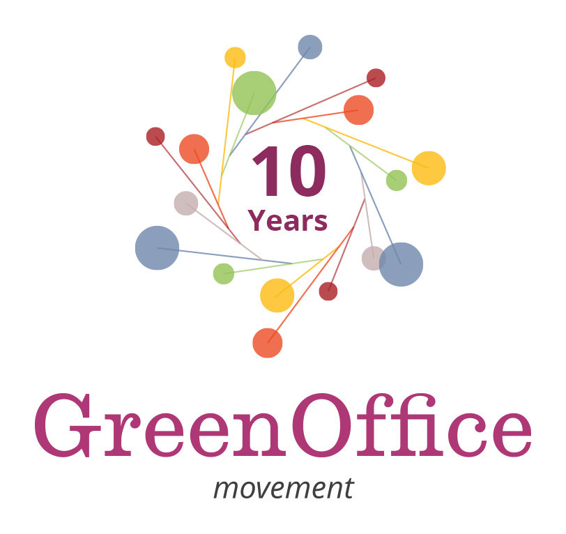 Green Office Movement Logo 10 Years