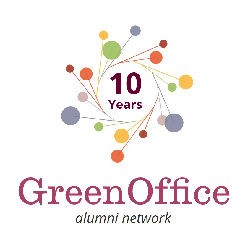 Green Office Movement Logo 10 Years - Alumni Network